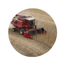 "Combine on Harvet Day #1 3.5"" Button"