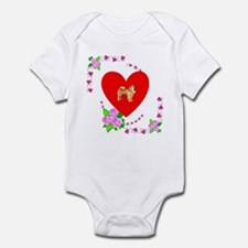 Chow Chow Love Infant Bodysuit