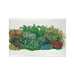 Shade Garden Rectangle Magnet