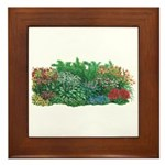 Shade Garden Framed Tile