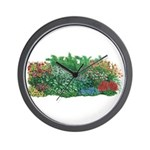 Shade Garden Wall Clock