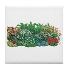 Shade Garden Tile Coaster