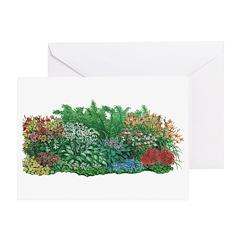 Shade Garden Greeting Card