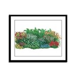Shade Garden Framed Panel Print