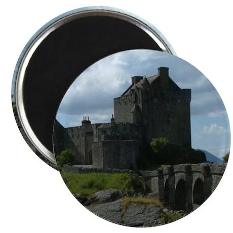 """Eilean Donan Castle 2.25"""" Magnet (10 pack)"""