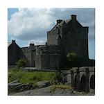 Eilean Donan Castle Scotland Tile Coaster