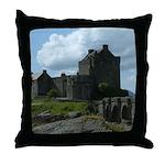 Eilean Donan Castle Scotland Throw Pillow