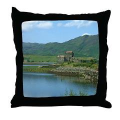 Scottish Castle Throw Pillow