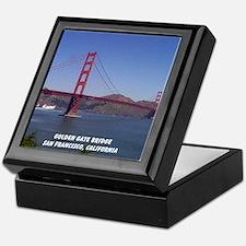 San Francisco Souvenir Keepsake Box