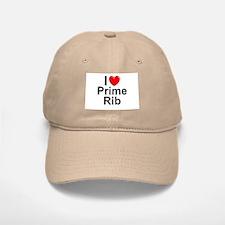 Prime Rib Baseball Baseball Cap