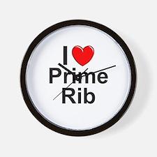 Prime Rib Wall Clock