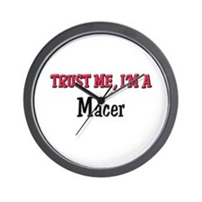 Trust Me I'm a Macer Wall Clock