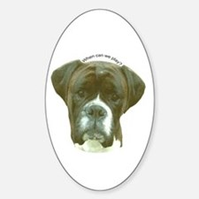 Boxer Oval Decal