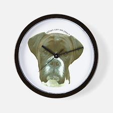 Boxer Wall Clock