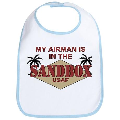 Airman Sandbox Air Force Bib