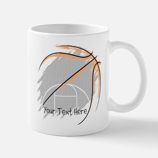 Personalize Basketball Mugs