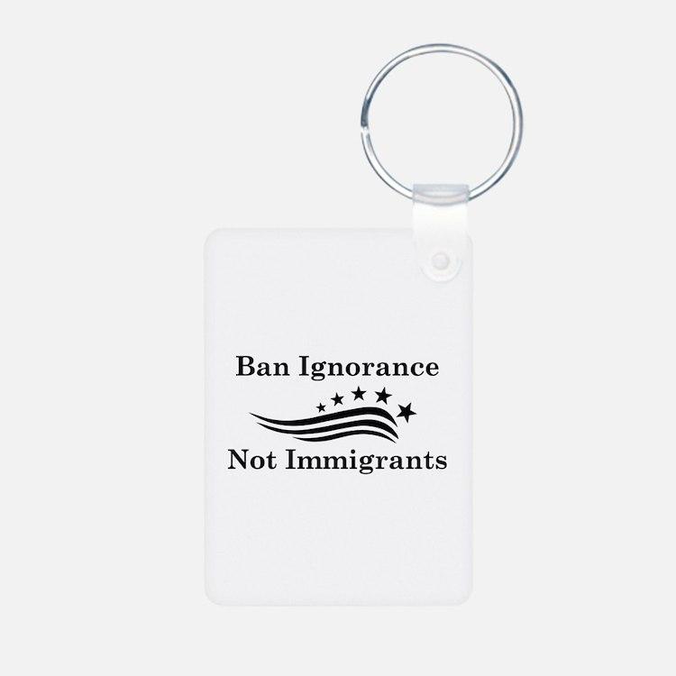 Ban Ignorance Keychains
