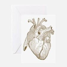 Vintage Heart Greeting Cards