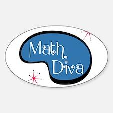 Math Diva Decal