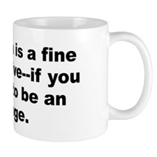 Funny Allen quotation Mug