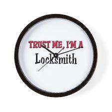 Trust Me I'm a Locksmith Wall Clock
