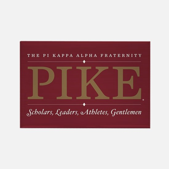 Pi Kappa Alpha Fraternity Pike Rectangle Magnet