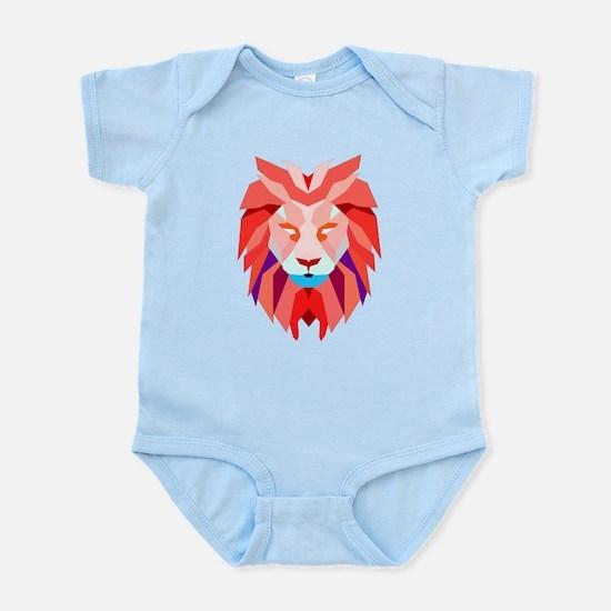 Polygonal Lion Body Suit
