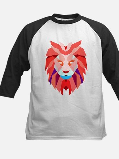 Polygonal Lion Baseball Jersey