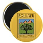 Boulder Genealogical Society Magnet Magnets