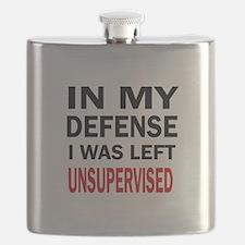 LEFT UNSUPERVISED Flask