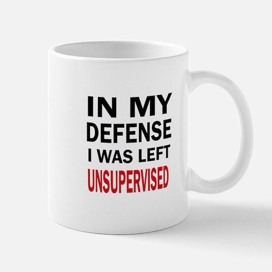 LEFT UNSUPERVISED Mugs