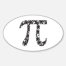 Floral Pi Decal