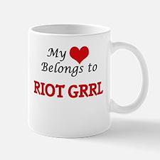 My heart belongs to Riot Grrl Mugs