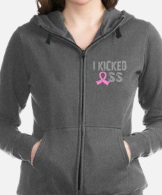 I Kicked Ass Breast Cancer Sweatshirt