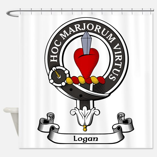 Badge - Logan Shower Curtain
