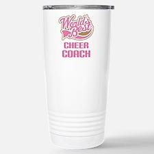 Worlds best cheer mom Travel Mug