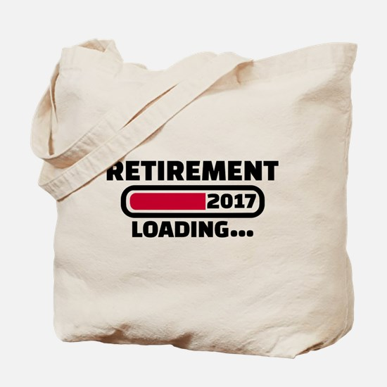 Retirement 2017 Tote Bag
