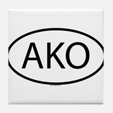 AKO Tile Coaster