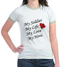 My Soldier Life Love Hero T