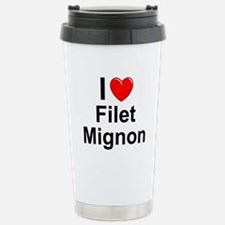 Filet Mignon Stainless Steel Travel Mug