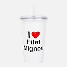 Filet Mignon Acrylic Double-wall Tumbler