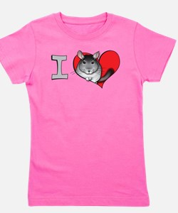 I heart chinchillas T-Shirt