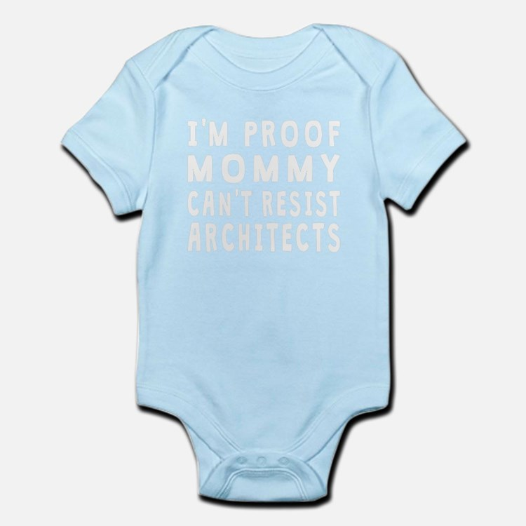 Proof Mommy Cant Resist Architects Body Suit