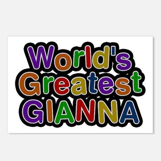 World's Greatest Gianna Postcards 8 Pack