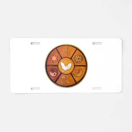 interfaith-1.png Aluminum License Plate