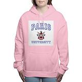University of paris Hooded Sweatshirt