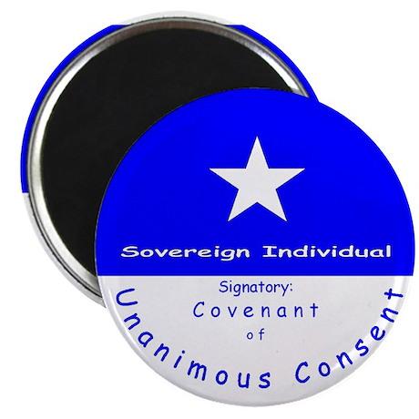 """Bonnie Blue, SI, CUC 2.25"""" Magnet (100 pack)"""