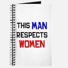 man respects women Journal