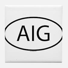 AIG Tile Coaster