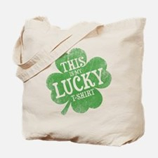 Lucky Shamrock Tote Bag